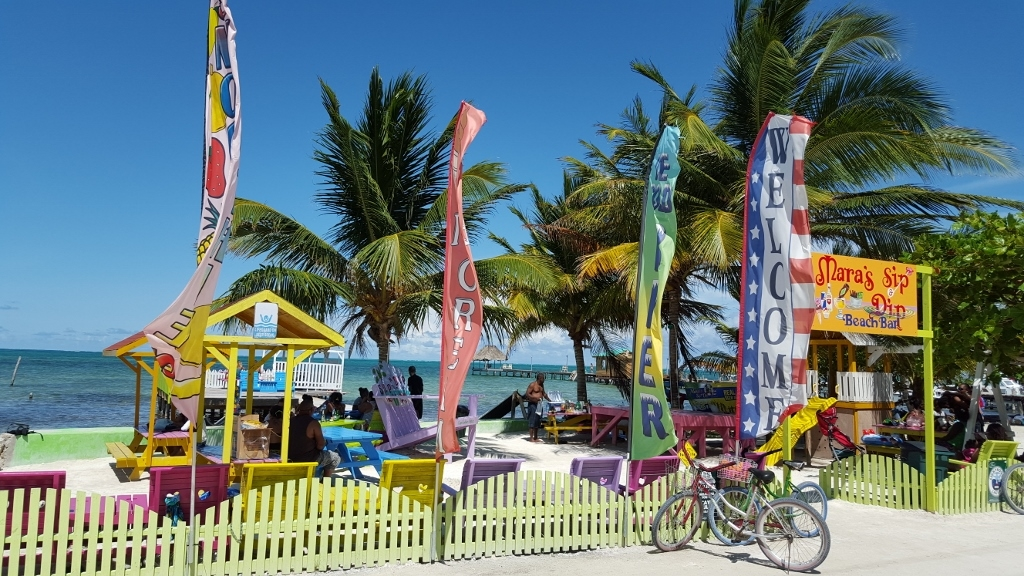 The beauty of Caye Caulker.
