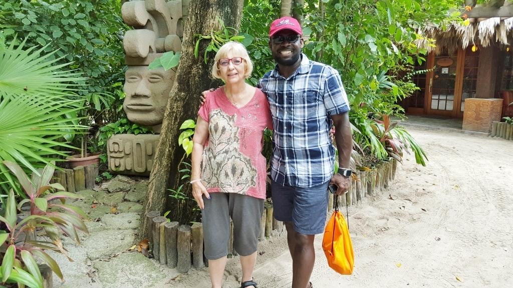 With Linda Schlepp-Gray.